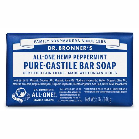 bar soap 140g peppermint large