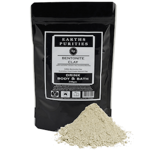 earths purities bentonite clay 250g
