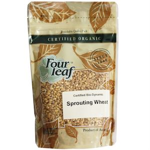 four leaf milling organic sprouting wheat 350g