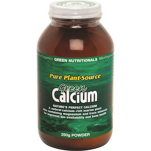 green nutritionals greem calcium 250g