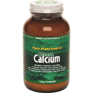 green nutritionals green calcium 100g
