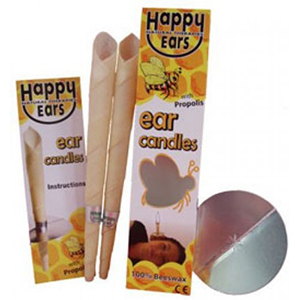 happy ears 100 beeswax cone ear candles
