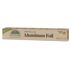 if you care recycled aluminium foil