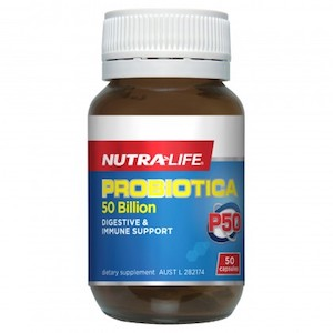 nutralife probiotica 50 billion 50capsules