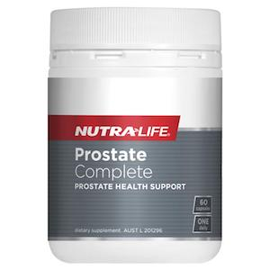 nutralife prostate complete 60capsules